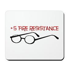 +5 Fire Resistance Mousepad
