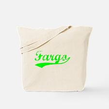 Vintage Fargo (Green) Tote Bag