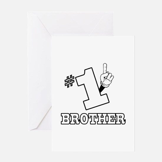 #1 - BROTHER Greeting Card