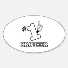 #1 - BROTHER Oval Decal