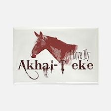 Akhal-Teke Lover Rectangle Magnet