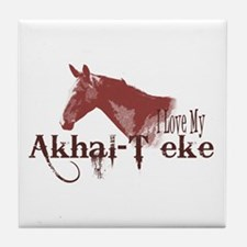 Akhal-Teke Lover Tile Coaster