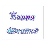 Happy Dreamer Small Poster