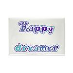 Happy Dreamer Rectangle Magnet (100 pack)