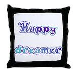 Happy Dreamer Throw Pillow