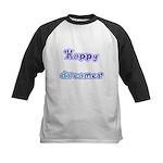 Happy Dreamer Kids Baseball Jersey