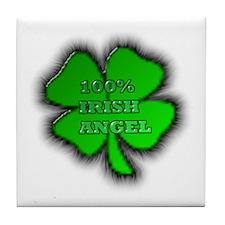 Cute Irish phrase Tile Coaster
