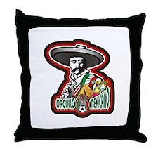 Orgullo Mexicano Throw Pillow