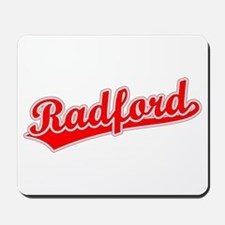 Retro Radford (Red) Mousepad