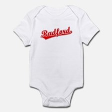 Retro Radford (Red) Infant Bodysuit