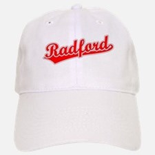 Retro Radford (Red) Baseball Baseball Cap