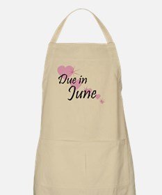 Due June Cascading Hearts BBQ Apron