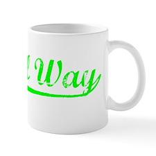 Vintage Federal Way (Green) Mug