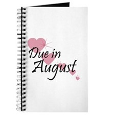 Due In August Cascading Hearts Journal