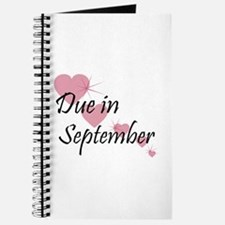 Due In September Cascading Hearts Journal