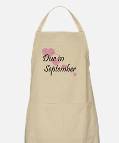 Due In September Cascading Hearts BBQ Apron