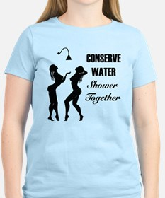 Conserve Water Shower Together T-Shirt