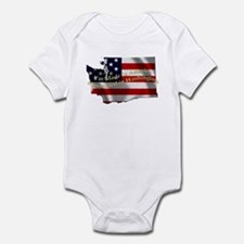 Cute Made in washington Infant Bodysuit