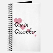 Due In December Cascading Hearts Journal