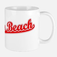 Retro Redondo Beach (Red) Mug
