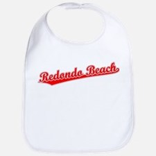 Retro Redondo Beach (Red) Bib