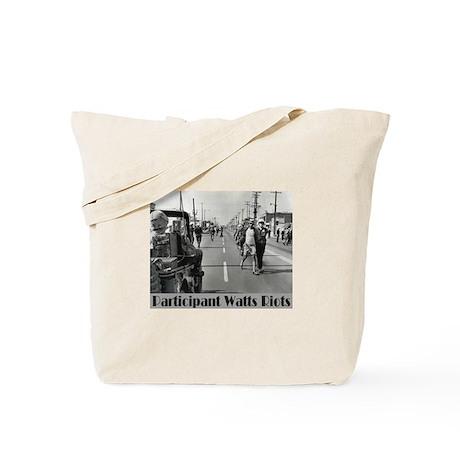 Watts Riots Tote Bag