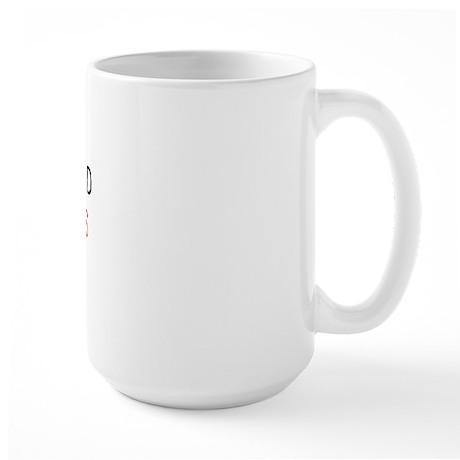 GODDAMNED WIPEOUTS Large Mug