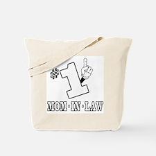 #1 - MOM-IN-LAW Tote Bag