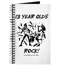 13 Year Olds Rock Journal