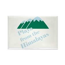 Playa from Himalaya Rectangle Magnet