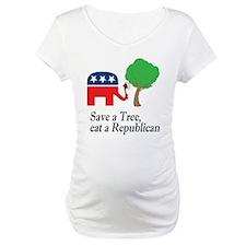 Save a tree, eat a republican Shirt