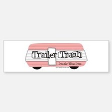 Double Wide Diva - Trailer Bumper Bumper Stickers