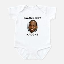 Kwame Kilpatrick Got Caught Infant Bodysuit