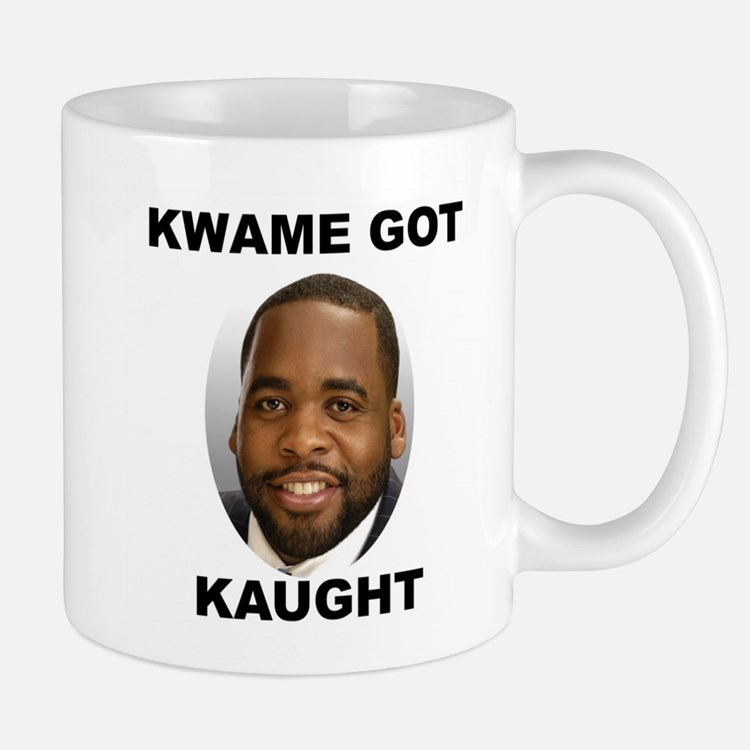 Kwame Kilpatrick Got Caught Mug