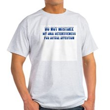 Affection Not Ash Grey T-Shirt