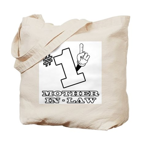#1 - MOTHER-IN-LAW Tote Bag