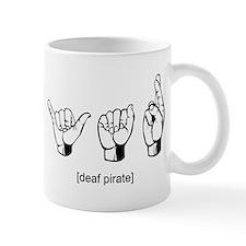 Deaf Pirate Mug