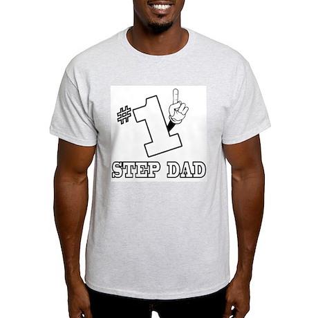 #1 - STEP DAD Light T-Shirt