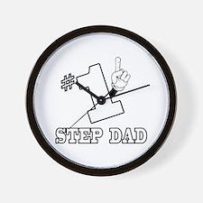 #1 - STEP DAD Wall Clock