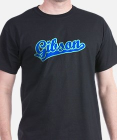 Retro Gibson (Blue) T-Shirt