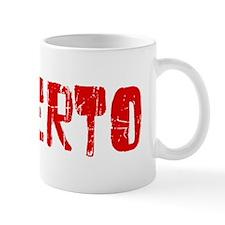Roberto Faded (Red) Mug