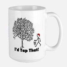 I'd Tap That Ceramic Mugs