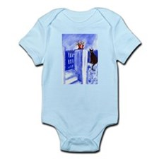 BLACK CAT Santorini Design 3 Infant Creeper