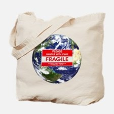 *Fragile* Earth Tote Bag