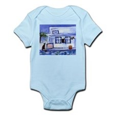 Black Cat laundry Santorini 6 Infant Creeper