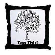 Tap This Throw Pillow