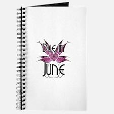 Due In June Fairy Wings Journal