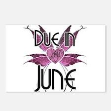 Due In June Fairy Wings Postcards (Package of 8)