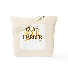 Boyz Rock Harder Tote Bag