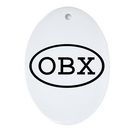 OBX Oval Oval Ornament